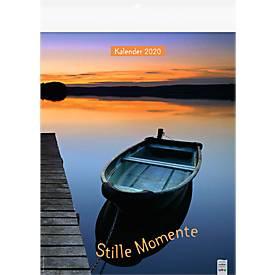Bildkalender Stille Momente, 245 x 345 mm,Dt. Kalendarium m. Kennz. intern. Feiertage
