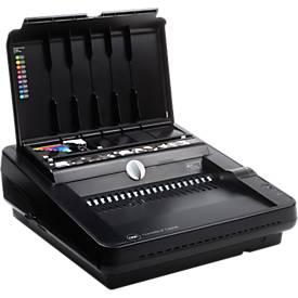 Bindegerät GBC CombBind C450E, elektrisch, Plastikbindung bis 450 Blatt, Stanzen bis 25 Blatt, A4