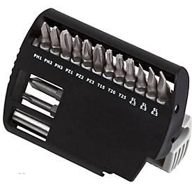 Bit Case 15 HC, übersichtliches Display, mit 14 Bits und magnetischem Bithalter
