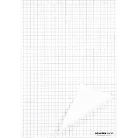 Blocs pour flipchart, à carreaux, 80 g/m², pièce