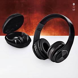 Bluetooth-Kopfhörer faltbar mit SD-Kartenslot und AUX-Eingang 5-6 Stunden Spieldauer
