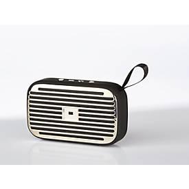 Bluetooth-Lautsprecher Nestler-matho JUKEBOX big, 5 W, UKW/AUX/SD, mit Ladekabel, Werbefläche