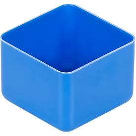 Boîte de compartimentage EK 401, PS, bleu, 40 unités