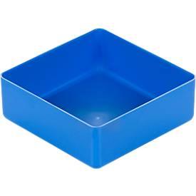Boîte de compartimentage EK 403, PS, bleu, 30 unités