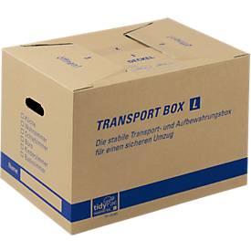 Boîtes de transport en carton double cannelure