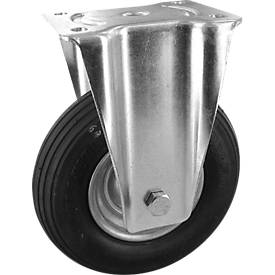 Bockrolle mit pannensicheren Polyurethan-Reifen