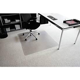 Image of Bodenschutzmatte aus transparentem Makrolon®, 1800 x 1200 mm, für Teppichböden