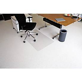 Bodenschutzmatte Ecoblue®, B 750 - 3000 mm, Mattenstärke 2,1 mm, f. Teppichböden