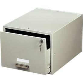 Boîte pour cartothèque, pour format de fiche A5 paysage