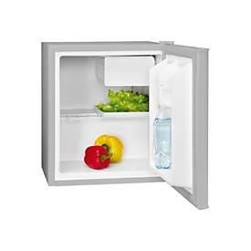 Bomann KB 389 - Kühlschrank mit Gefrierfach - freistehend - Silber