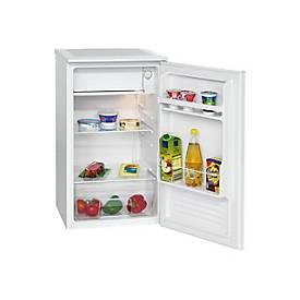 Bomann KS 2261 - Kühlschrank mit Gefrierfach - freistehend - weiß