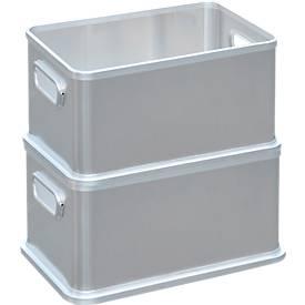 Box, Aluminium, ohne Deckel, verschiedene Größen
