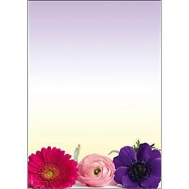 "Briefbögen ""Flower Harmony"""
