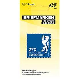 Briefmarken á € 2,70 (PRIO S Inland), 25 Stk.