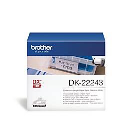 Brother Endlos-Etiketten DK-22243