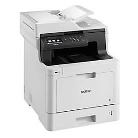 Brother Farblaser-Multifunktionsdrucker DCP-L8410CDW, 3-in-1-Gerät, mittlere Gruppen