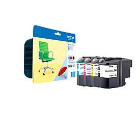 Brother LC-229XL Value-Pack, 4 x XL-Tintenpatronen  schwarz, cyan, magenta, gelb SET