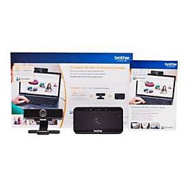 Brother OmniJoin Standard Bundle - Box-Pack (3 Monate) - bis zu 30 Teilnehmer - mit HD-Webcam und USB-Freisprecheinrichtung