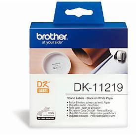 BROTHER Runde Etiketten DK