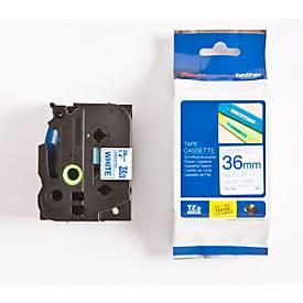 Brother Schriftbandkassette TZe-263, 36 mm, weiß/blau