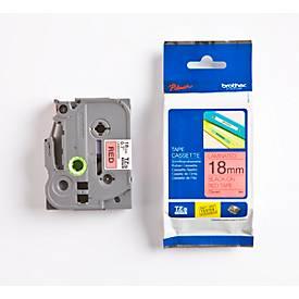 Brother Schriftbandkassette TZe-441, 18 mm, rot/schwarz