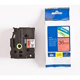 Brother Schriftbandkassette TZe-461, 36 mm, rot/schwarz
