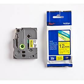 brother Schriftbandkassette TZe-631, 12 mm breit, gelb/schwarz