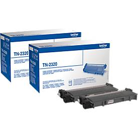 Brother Sparset 2 x TN-2320 Tonerkassette schwarz