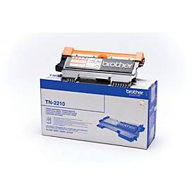 Brother toner kass.TN-2210,zwart,2st.