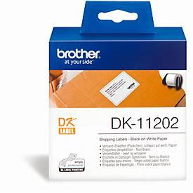 BROTHER Versand-Etiketten DK-11202, 62x100 mm, 300 Stück