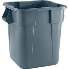 Brute-Container aus Polyethylen, eckig, 105 l