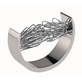 Büroklammerspender Bow, mit 100 Büroklammern, magnetisch