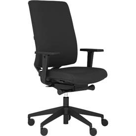 Image of Bürostuhl MONICO OS 2450, Synchronmechanik, mit Armlehnen, Sitzzeit 8+ Stunden, Kunststoff