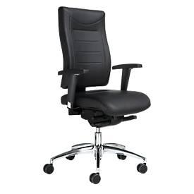 Bürostuhl SSI PROLINE P3+ DELUXE, 3D-Mechanik, ohne Armlehnen, hohe Rückenlehne, ohne Kopfstütze