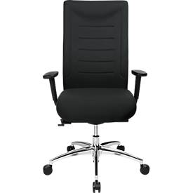 Bürostuhl SSI PROLINE XXL, Synchronmechanik, mit Armlehnen, bis 150 kg, schwarz