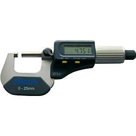 Bügelmessschraube 0 - 25 mm im Etui elektronisch