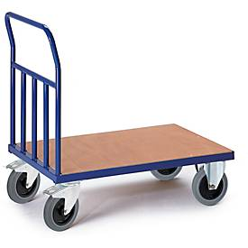 Buisuiteinde wand trolley, 1000 x 600 mm