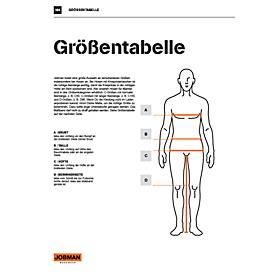 Image of Bundhose Jobman 2378 PRACTICAL, Hi-Vis, EN ISO 20471 Klasse 2, gelb I dunkelblau, 42