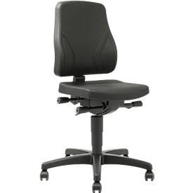 Bureaustoel All-in-One Trend 9633, met zwenkwieltjes, integraalschuim, zwart