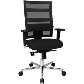 Bureaustoel Topstar SITNESS X-Pander plus, incl. 3D zitting, zithoogte verstelbaar, zwart