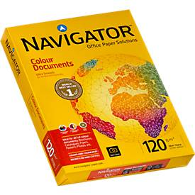 Büropapier NAVIGATOR Colour Documents, DIN A4