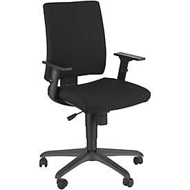 Bürostuhl Intrata, ohne Armlehnen, Synchronmechanik, höhenverstellbar