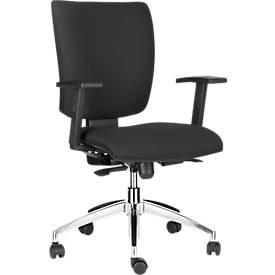 Bürostuhl Sprinto, ohne Armlehnen, Rückenlehnenhöhe 500 mm