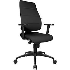 Bürostuhl Synchro Soft, ohne Armlehnen, mit Knierolle, Bandscheibensitz