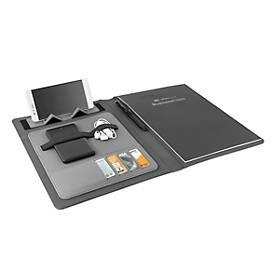 Businessmappe Metmaxx MetropolitanFutureBusinessL, A4, mit Ladepad, RFID-Schutz, WAB 40x25 mm
