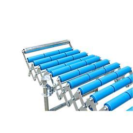 Butée fixe pour convoyeur à petits rouleaux, largeur convoyeur 500 mm