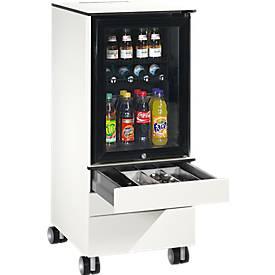 Caddy ASISTO C 3000, mit Kühlschrank, 3 Schubladen, inkl. Schubladeninneneinrichtung