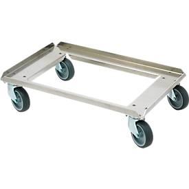 Cadre à roulettes en aluminium