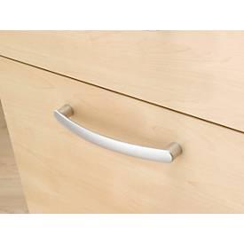 Caisson mobile 1233, 4 tiroirs, poignées rondes, l. 435 x P 765 x H 577 mm