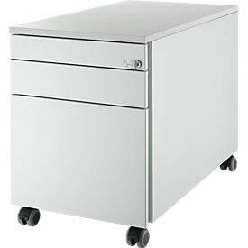 Caisson mobile 126, 3 tiroirs, clé rabattable